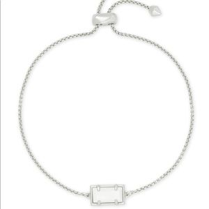Kendra Scott Phillipa silver chain bracelet